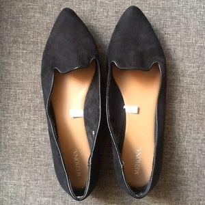 Merona black pointed flats